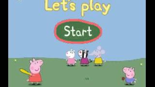 Peppa Pig Bat and Ball English New Episode 2014