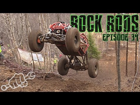 ROCK BOUNCER HILL CLIMB MUD RACING - Rock Rods Episode 34