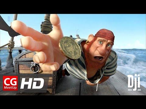"""CGI Animated Short Film HD: """"Dji Death Sails"""" by Simpals Animation Studio"""