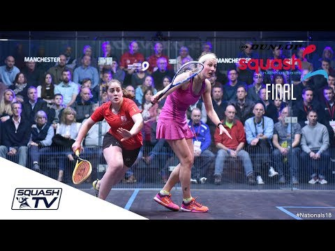 Squash: Dunlop British Nationals 2018 - Evans v Waters - Women's Final Roundup