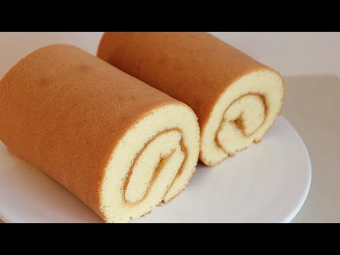 how-to-make-a-fluffy-and-delicious-swiss-roll-cake💕