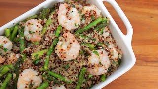 One Pot Garlic Shrimp Quinoa | Easy Weeknight Dinners