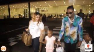 ZARI alivyowasili BONGO na wanae, DIAMOND atinga kumpokea na team yake: FULL VIDEO