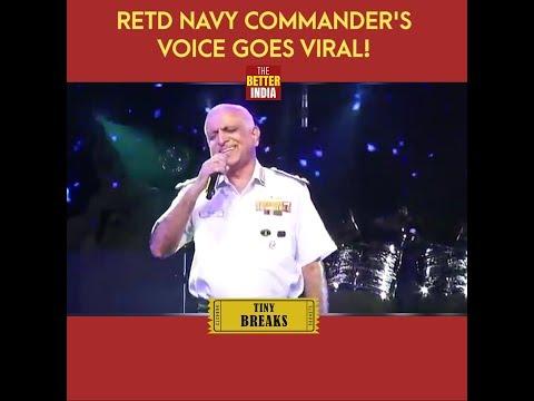 Retd Navy Commander's Voice Goes Viral!
