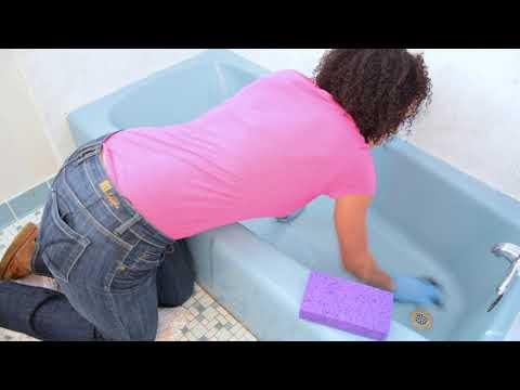 #1 BATHWORKS DIY Bathtub Refinishing Kit HOW TO