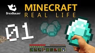 Minecraft Real Life - Journey to the Nether part 1