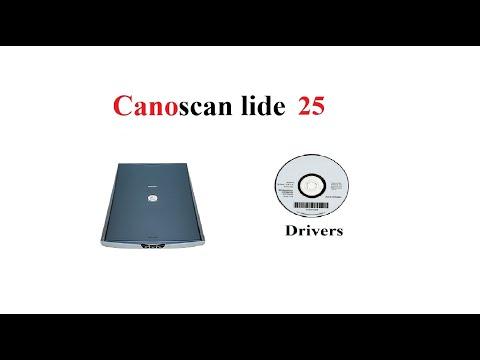 CanoSCAN LiDE 25 | Driver