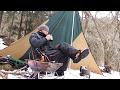 ②秩父雪の中の虚空蔵峠でランチをしよう!「雪山ランチ・ベース設置道具紹介コーヒーまで」編バイクツーリングキャンプ