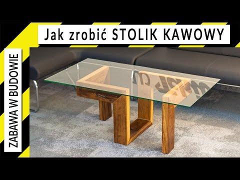 Jak zrobić stolik kawowy z drewna iroko ☕ How to make a coffee table