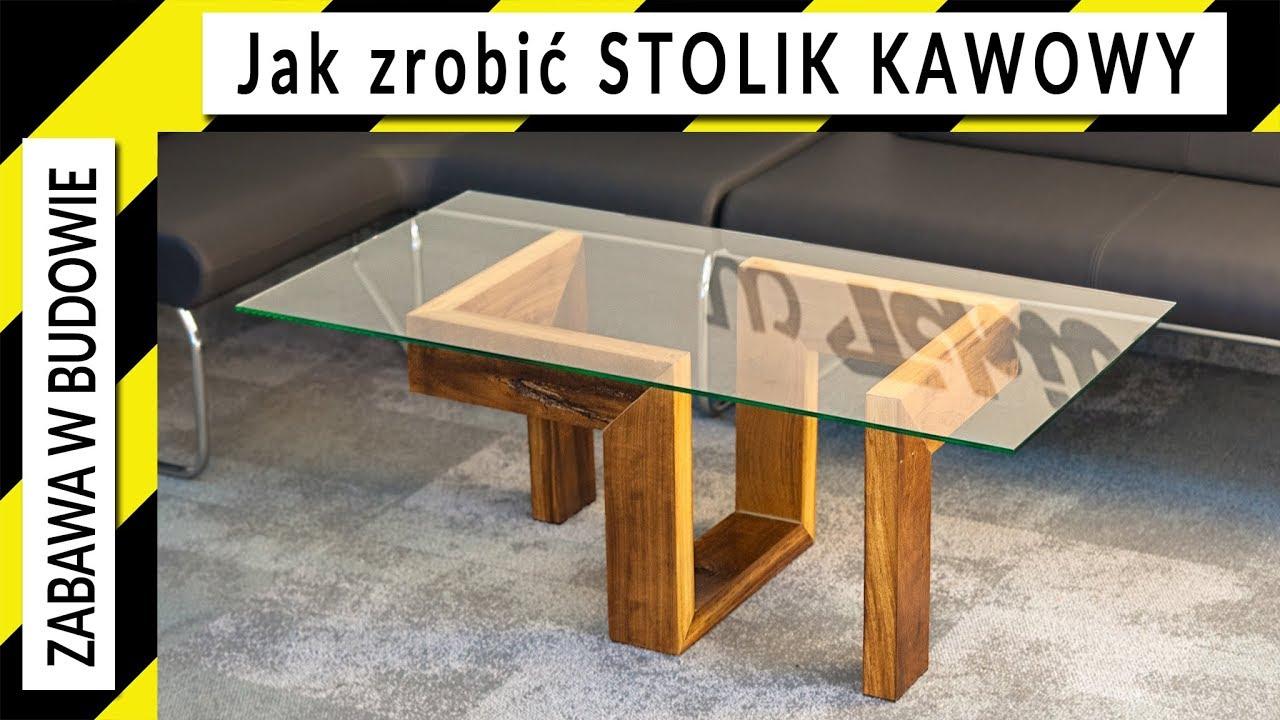 Jak Zrobić Stolik Kawowy Z Drewna Iroko How To Make A Coffee Table