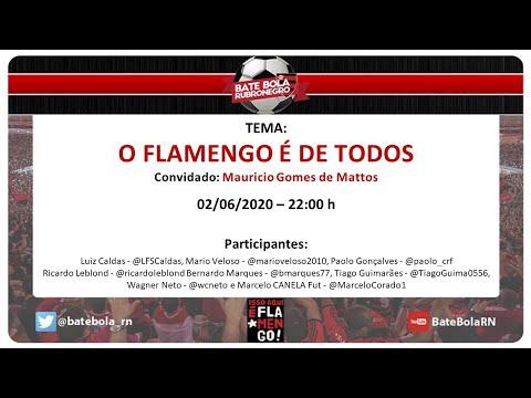 150- #BBRN - O FLAMENGO É DE TODOS - 02/06/2020