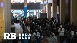 Long lines for early voting in New York City