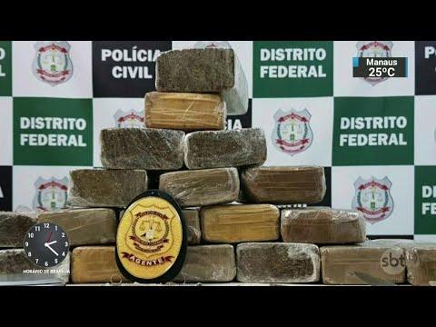 Mulher é presa acusada de ajudar o filho a vender drogas em escolas | SBT Notícias (28/03/18)