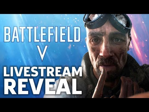 Battlefield V Official Reveal Livestream With Pre and Post Show