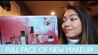 Sephora Favorites The Perfect Ten Beauty Essentials Unboxing and Try On!