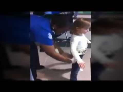 TSA Frisking of 6-Year-Old Caught on Tape