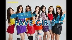 [G-PROFILE] FAVE GIRLS