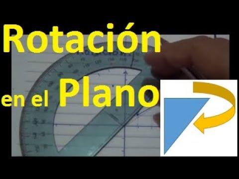 Matemática Básica - Rotación de figuras en el plano - Rotación 70 ...