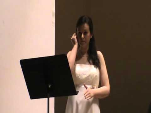 Master of Arts in Music Performance Recital - Margit G.Fodor 2015