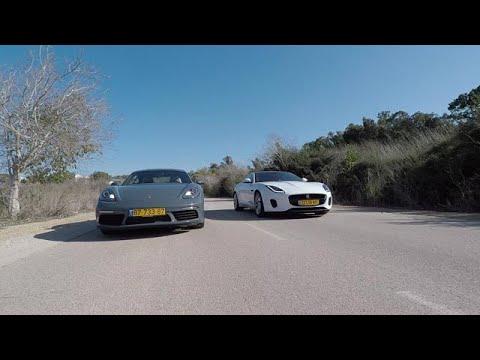 מבחן רכב - יגואר מול פורשה