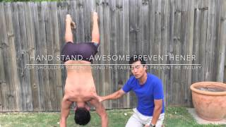 Download The hand stand is a must I believe in any shoulder rehab MP3 song and Music Video