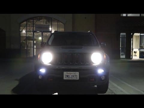 Ijdmtoy Jeep Renegade Led Daytime Running Lights Demo