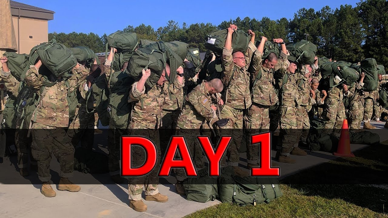 DAY ONE | Army Basic Training | What To Expect
