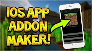 IOS OS | IOS | HOW TO CREATE ADDONS ON iOS DEVICE NO JAILBREAK OR PC NEEDED - Minecraft Pocket Edition