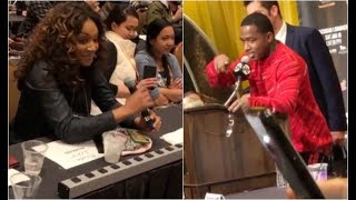 Adrien Broner Claps Back At Tiffany Haddish During Post Fight Interview Manny Pacquiao