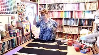 Episode 99 ~ Part 4 ~ BOOKSHELF Quilt tutorial ~  Making our top molding