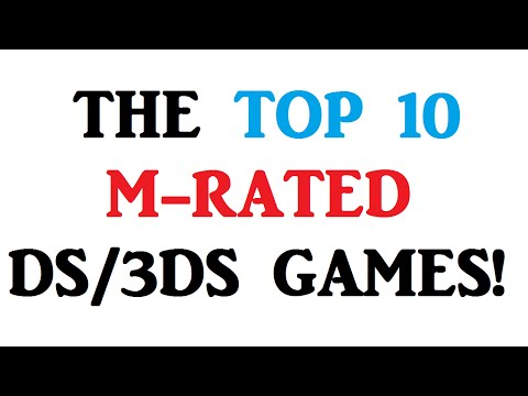 The Top 10 M-Rated DS/3DS Games!