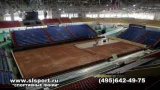 Строительство грунтовых теннисных кортов. Кубок федерации 2013.(, 2013-05-10T16:37:10.000Z)
