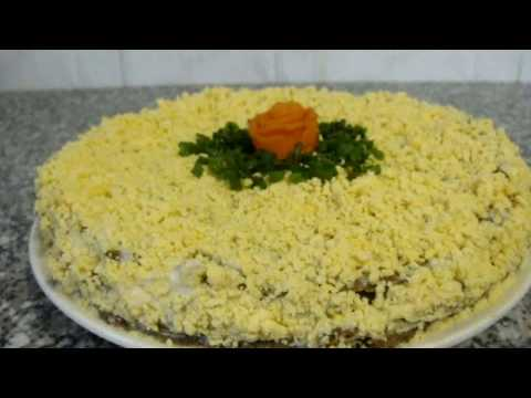 Печеночный торт Простой рецепт торта из говяжьей печени