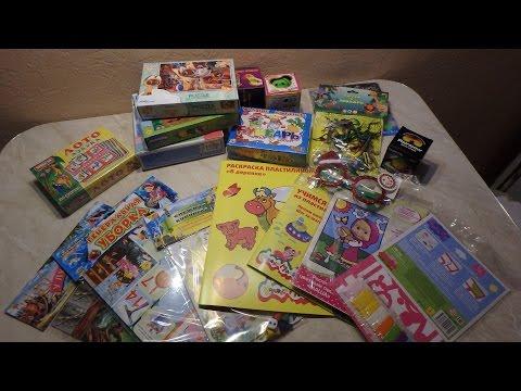 Детские покупки/Развивающие игры и другое