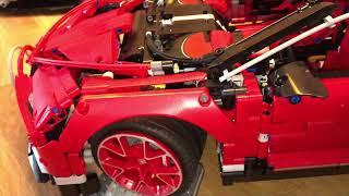 Lepin 20086 B - Bugatti Chiron Rot