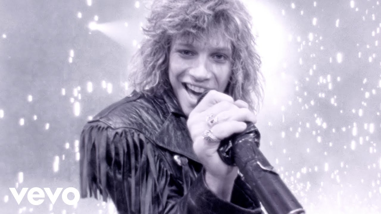 Bon Jovi Livin On A Prayer Official Music Video Youtube