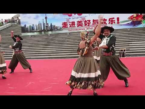 【Strawberry Alice】2016 Shanghai Tourism Festival: Argentinian Performance, Oriental Pearl TV Tower.