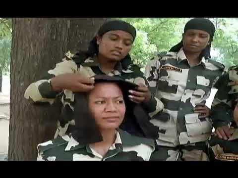Bsf lady commando training special story