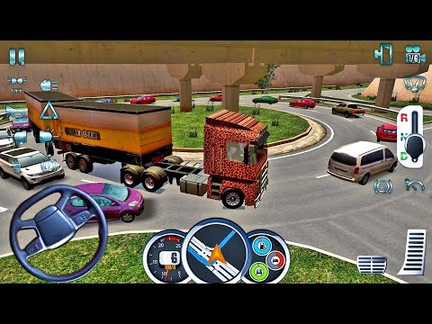 Euro Truck Driver 2018 #12 - New Truck Game Android gameplay #truckgames