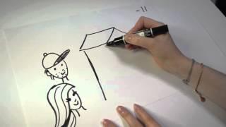 ♥ Draw my life - Mitt liv på 4 minuter!