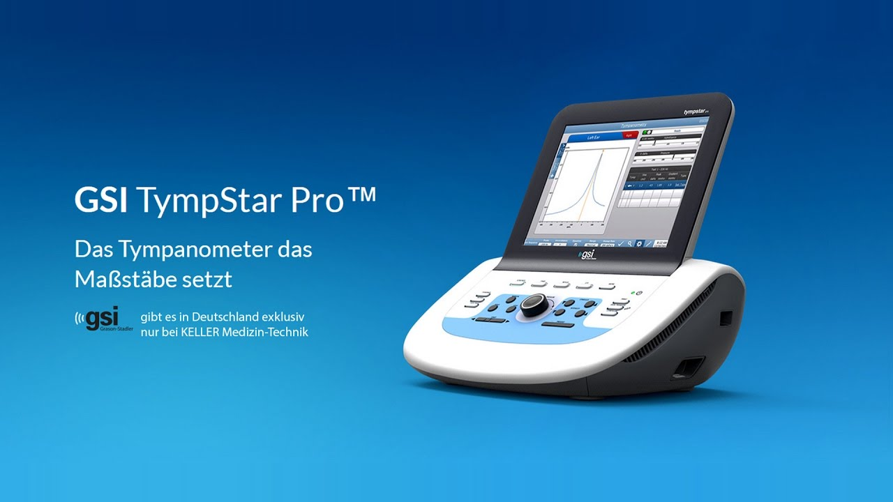 KELLER MEDIZIN-TECHNIK - GSI TympStar Pro™ [Full-HD] - YouTube