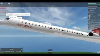 Roblox-EXT CRJ-900 Flight