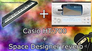 Casio HT 700 + Space Designer reverb