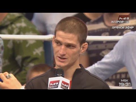 Речь Мовсара Евлоева после боя Хамзата Далгиева на M-1 Challenge 95