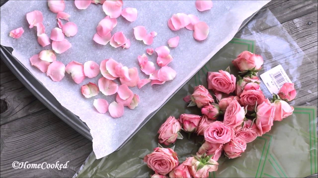 Dried Rose Petals At Home Easy Diy With Oven Without Oven