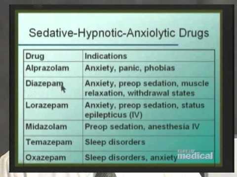 Sedating drugs