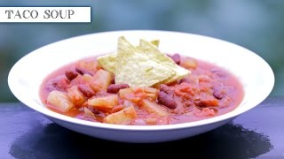 Vegan Taco Soup Recipe (low Fat & Super Healthy)
