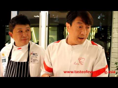 IKA Culinary Olympics: National Team Singapore 2016, Sharing by Chef Louis Tay & Eric Teo