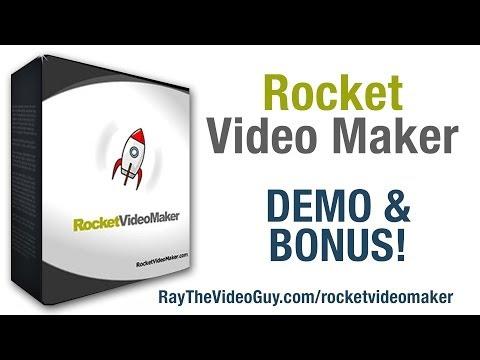 Rocket Video Maker Demo and Bonus - Review of Rocket Video Maker