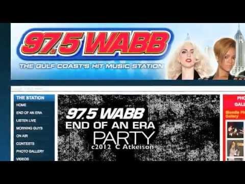 WABB AM/FM Radio Mobile, AL (Final 97FM Close)